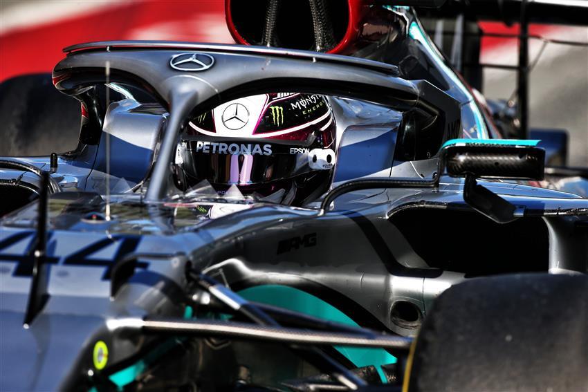 Diretta Test F Live Giorno 1 Hamilton Guida La Doppietta Mercedes