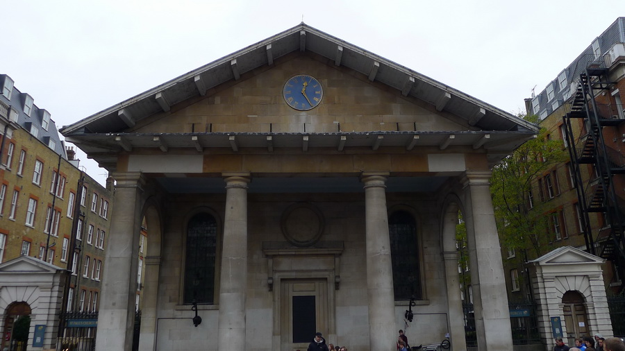 St Paul's, The Actors' Church in Covent Garden: Adventure-a-Day #29