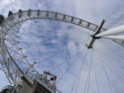 The London Eye is one of the most popular tourist attractions in London / Photo by Jill Browne