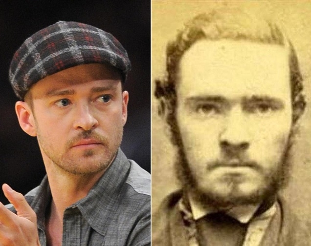 Historische celebrity look-a-likes!