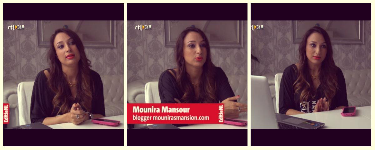 Mounira bij EditieNL