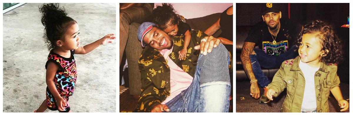 Dochter Chris Brown