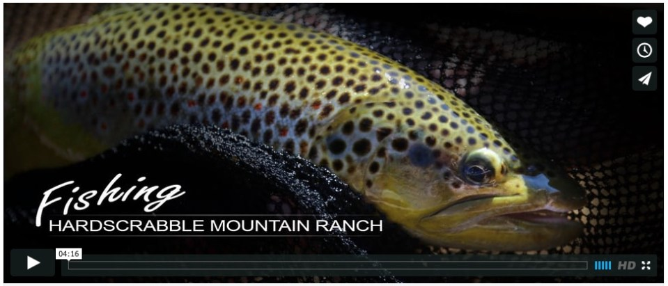 Hardscrabble Fishing Video