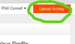 Strava Upload Activity