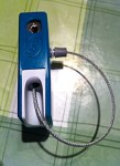 Knog Milkman Keyhole, cable and lock