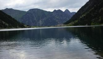 Wildcamping in the Pyrenees: Lac de Gaube (after a short walk from Cauterets)