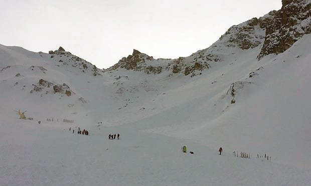 Five skiers die in Austrian avalanche