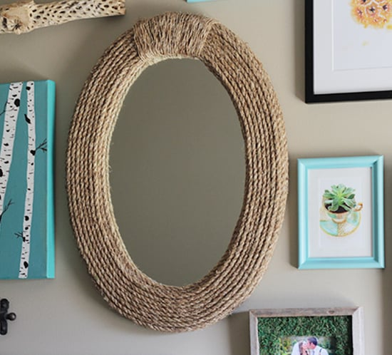 diy rope mirror mountainmodernlife.com