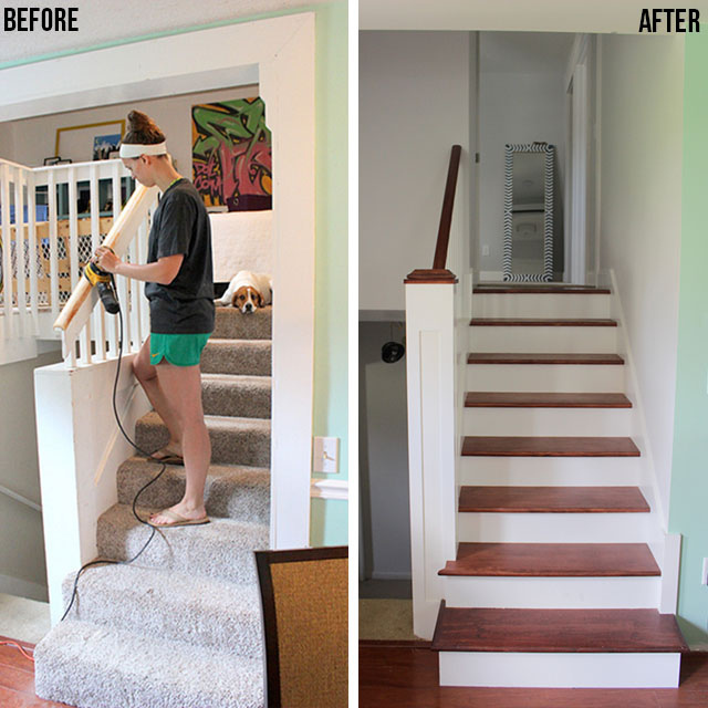 refinished-stairwell-reveal-homecomingblog