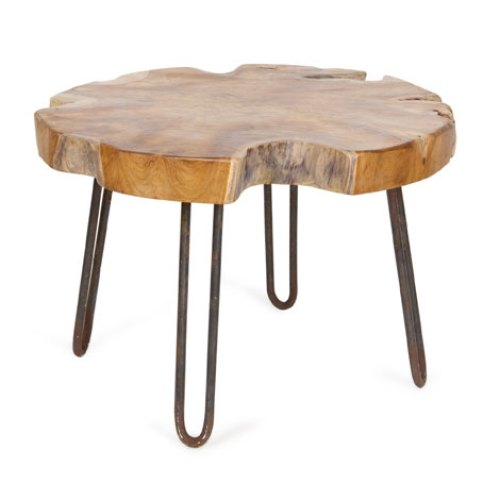 Love Hairpin Legs? I know I do! Check out this tutorial on how to make a Small Rustic Stool with DIY Hairpin Style Legs! MountainModernLife.com