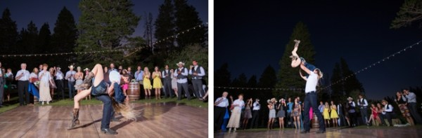 cowgirl dance mammoth lakes wedding
