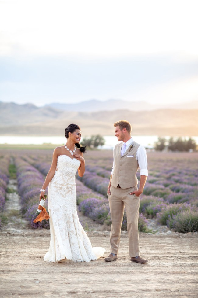 Lavendar styled shoot via Glamour & Grace
