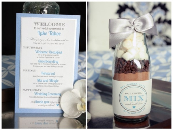 hot cocoa welcome kits