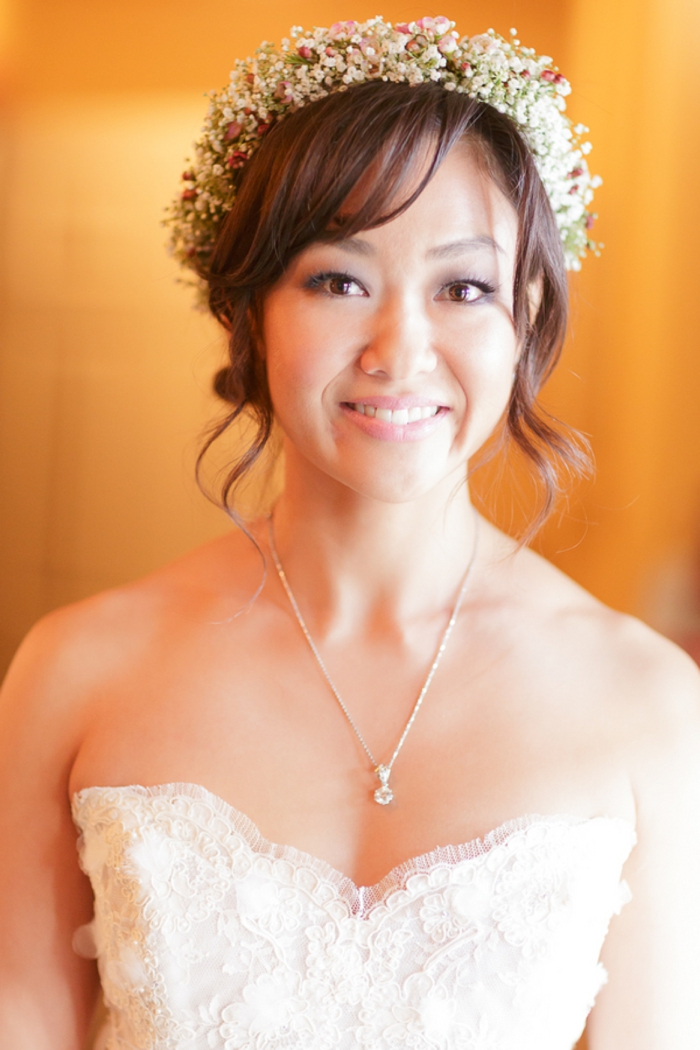best hair piece 2013 Sierra Nevada Weddings