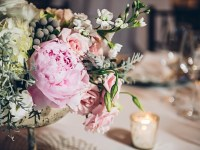 flowers | Old Edwards Inn Wedding | Crystal Stokes Photography