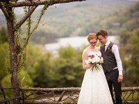 portrait western North Carolina handmade wedding by Shutter Love Photography