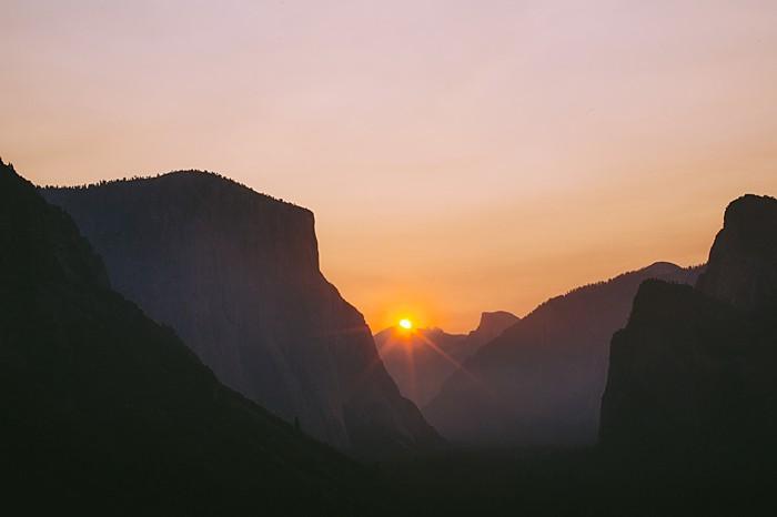 Yosemite rock climbing engagement | Photography by Peter Amend