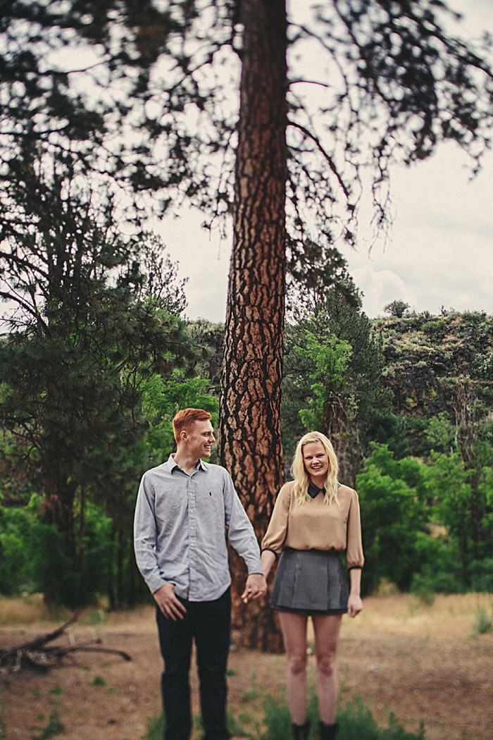 Idaho Engagment | Yes Dear Studio
