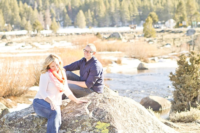 Lake Tahoe Engagement Session   Photography by Angie Capri