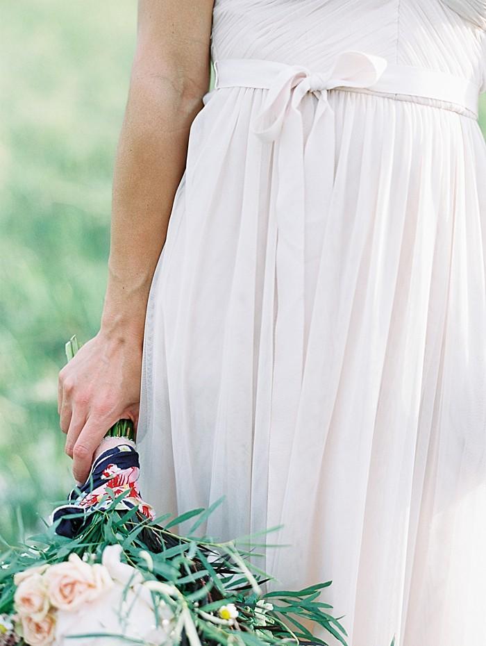 bridal gown tie detail    Boulder Colorado Wedding   Laura Murray