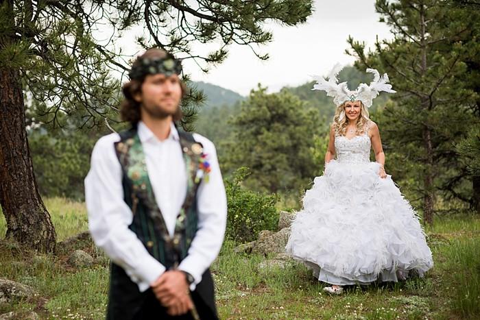 Bohemian Butterfly wedding | James Moro Photography