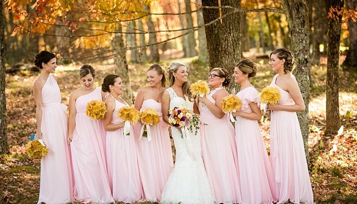 Rustic Fall Mountain Wedding at Trillium Clubhouse