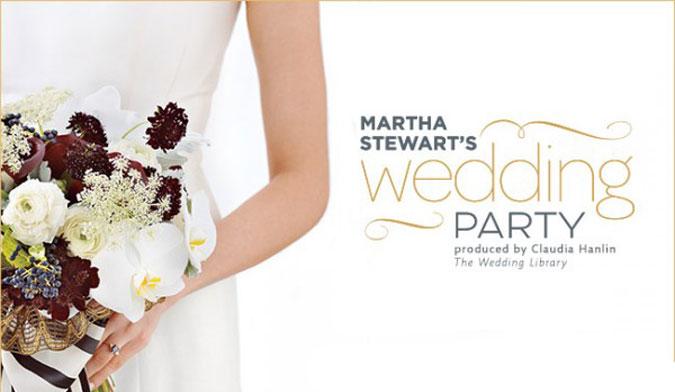Martha Stewart Wedding Party in NYC