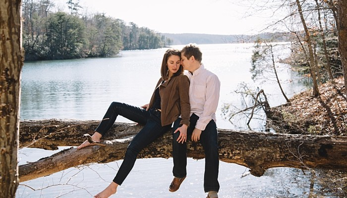 Treetop Engagement Session at Smith Mountain Lake