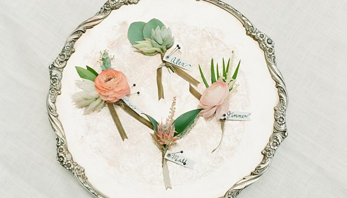 Romantic Mountain Wedding in Estes Park with Blush Pink Details