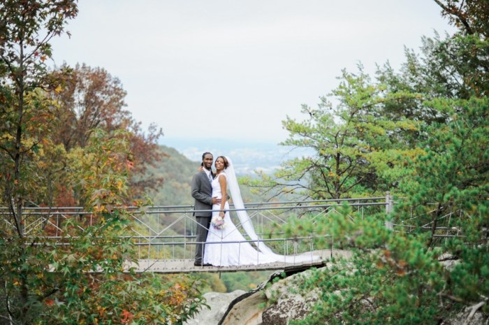 Lookout Mountain Fairyland Club Georgia | Unique2Chic Photography | Via MountainsideBride.com