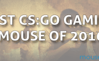 Best CS-GO gaming mouse 2016
