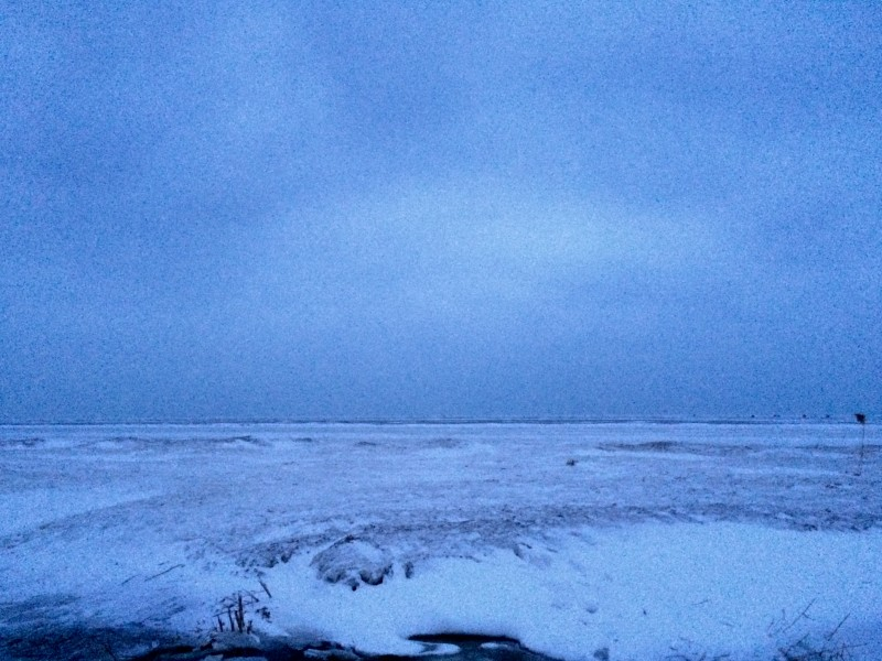 160124-Saginaw Bay from Bay City iPhone