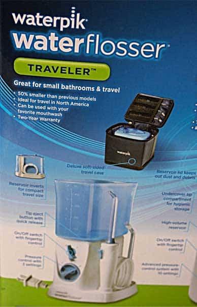 waterpik traveler water flosser wp 300. Black Bedroom Furniture Sets. Home Design Ideas