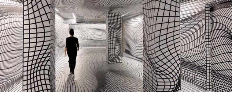 Les Espaces hallucinants de Peter Kogler© mouvement planant