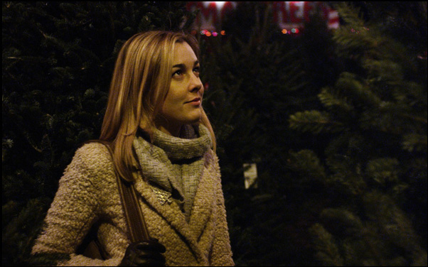 Anna Margaret Hollyman in a scene from Zach Clark's Christmas movie White Reindeer