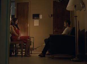 """Genesis Rodriguez and Paul Walker in """"Hours"""""""