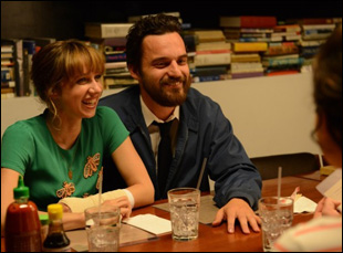 "Zoe Kazan and Jake Johnson in ""The Pretty One"""
