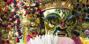 Taiwan culture god puppet
