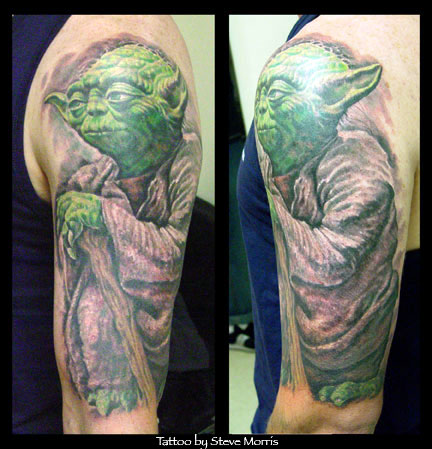 Star Wars Yoda Tattoo