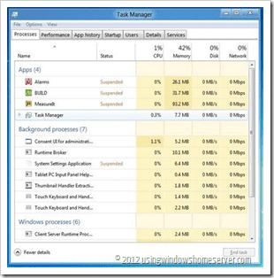 Windows 8 power