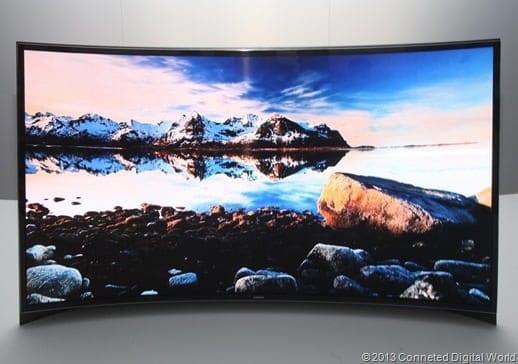 Curved OLED-TV