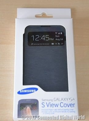 CDW Review Samsung Galaxy S4 S View Cover - 1