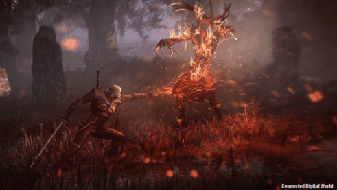 The_Witcher_3_Wild_Hunt_Geralt_uses_Igni_to_torch_leshen.png