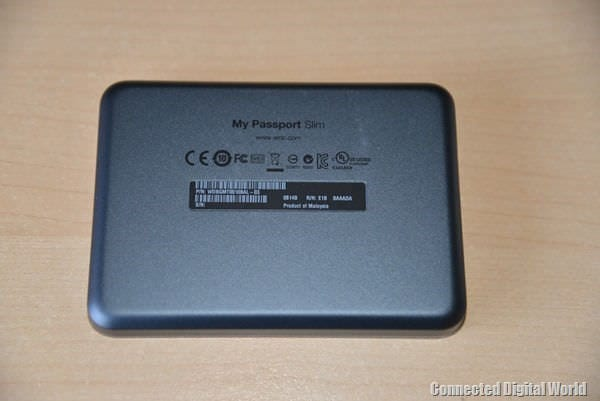 CDW Review WD My Passport Slim drive - 27