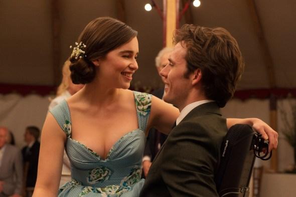 Emilia Clarke and Sam Claflin in 'Me Before You'