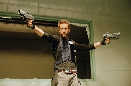 Hot Guys with Guns, like Ryan Reynolds, are a staple in my action/adventure writing, blogs, and television & movie viewing. http://lisapietsch.com/2011/03/hot-guys-with-guns-ryan-reynolds/