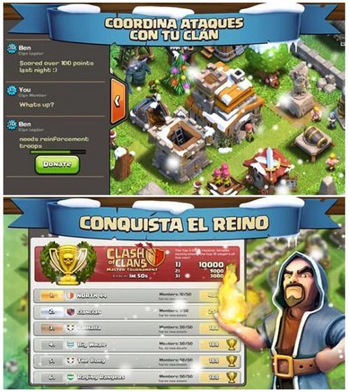 Clash of Clans, un entretenido juego para iOS enteramente gratis
