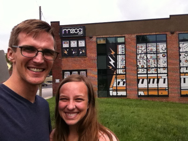 While in Asheville, we checked out Moog--where all sorts of electronic instruments are made