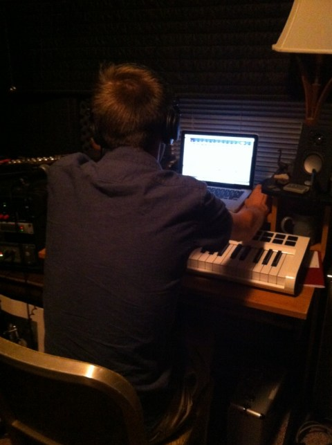 Producer at work