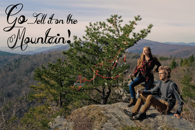 Go Tell it on the Mountain Christmas Card